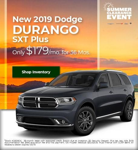 2019 - Durango - July