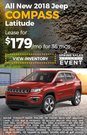 2018 Jeep Compass Lease Offer