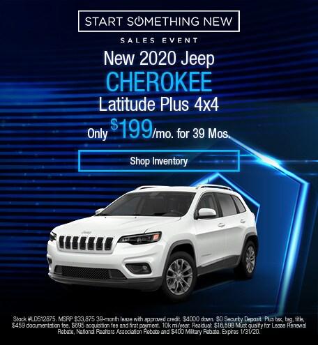 2020 - Cherokee - January
