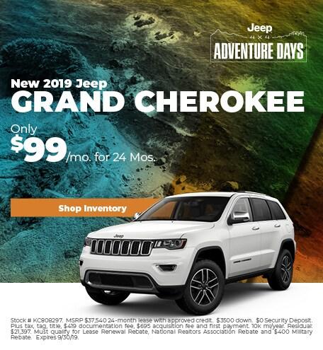 2019 - Grand Cherokee - September