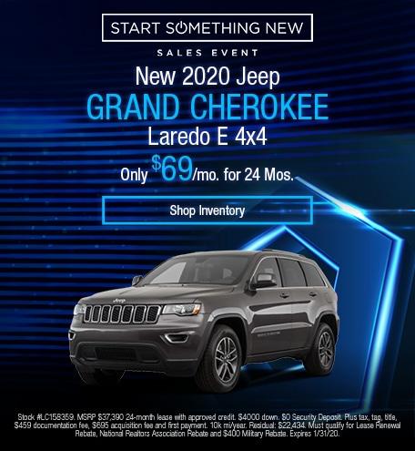 2020 - Grand Cherokee - January