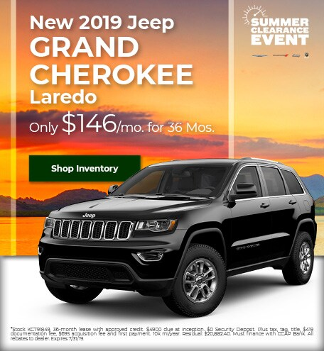 2019 - Grand Cherokee - July
