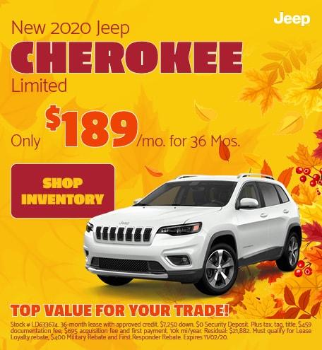 2020 - Cherokee - October