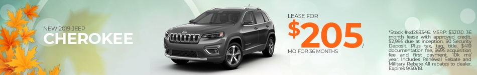 New 2018 Jeep Cherokee