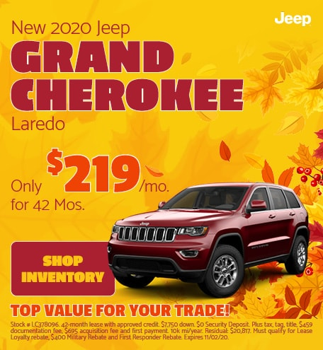 2020 - Grand Cherokee - October