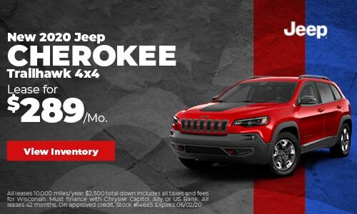 May 2020 Jeep Cherokee