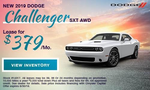 2019 Dodge Challenger SXT AWD
