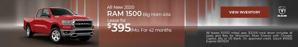 All New 2020 Ram 1500 Big Horn 4X4