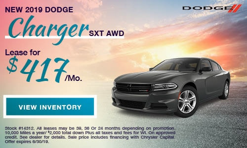2019 Dodge Charger SXT AWD