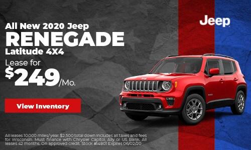 May 2020 Jeep Renegade