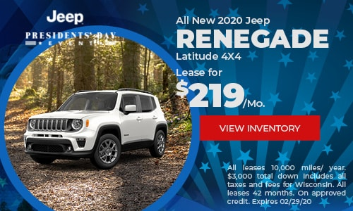 All New 2020 Jeep Renegade Latitude 4X4
