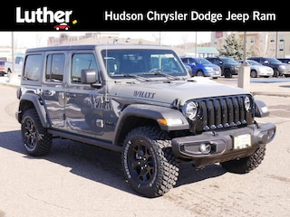 New 2021 Jeep Wrangler UNLIMITED WILLYS 4X4 Sport Utility For Sale in Hudson, WI