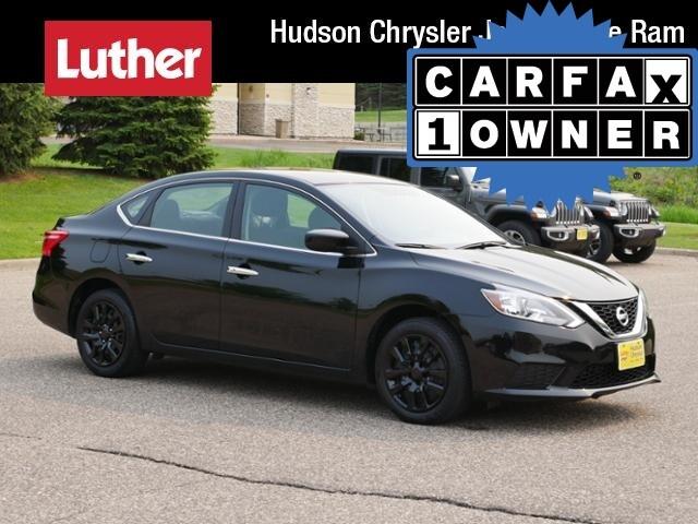 Used 2017 Nissan Sentra SV CVT For Sale | Hudson WI