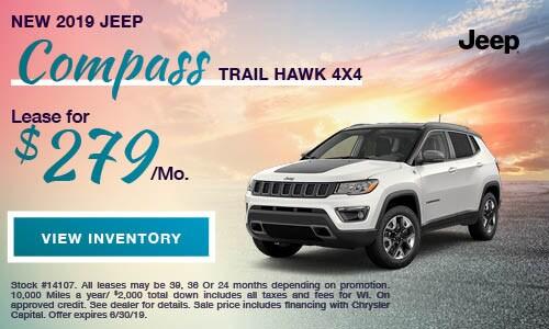 2019 Jeep Compass Trail Hawk 4X4