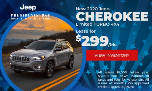 New 2020 Jeep Cherokee Limited TURBO 4X4