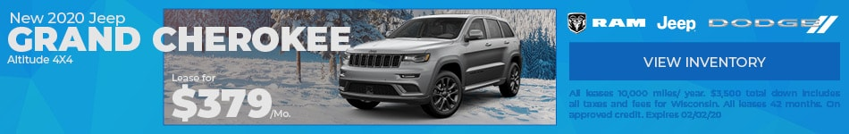 New 2020 Jeep Grand Cherokee Altitude 4X4