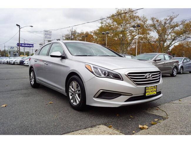 Certfied Used 2017 Hyundai Sonata SE SE  Sedan in Jersey City, NJ