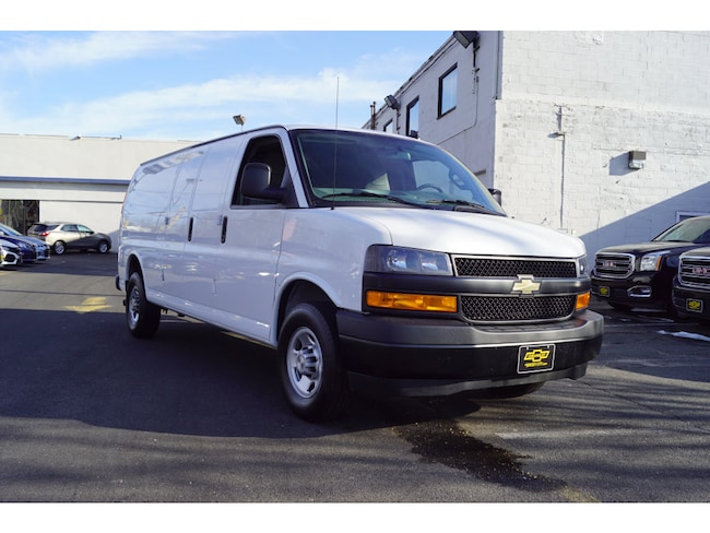 Used 2018 Chevrolet Express Cargo 2500 2500  Extended Cargo Van Jersey City
