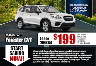 2019 Forester Specials