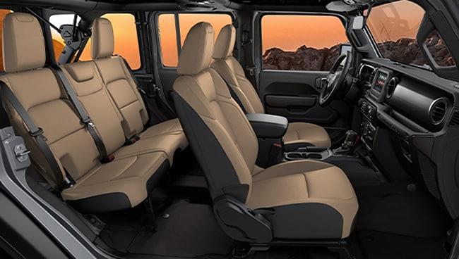 2020 Jeep Wrangler Black and Tan NY