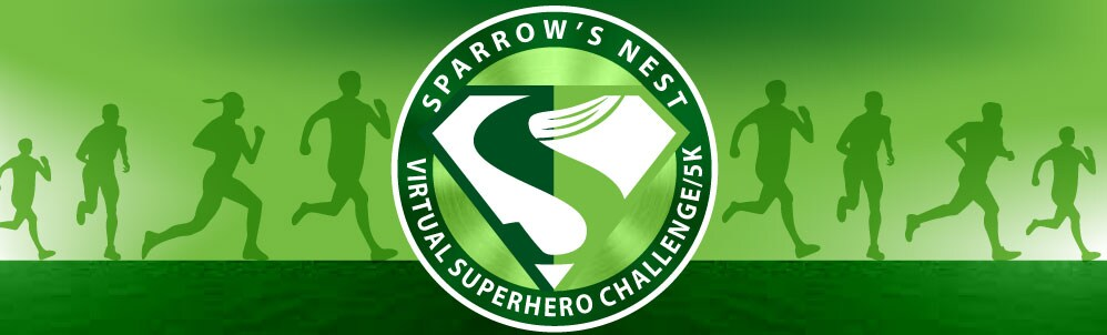 Sparrow's Nest Virtual Superhero Challenge & 5K 2021