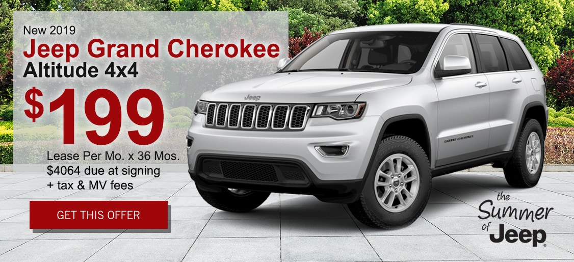 Lease deal on Jeep Grand Cherokee