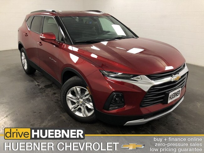 New 2019 Chevrolet Blazer For Sale In Carrollton Oh At Huebner