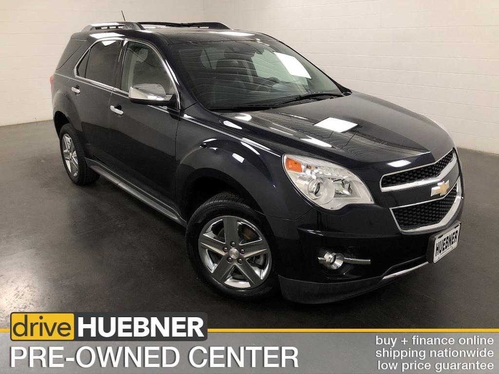 Huebner Chevrolet Carrollton Ohio >> Used 2015 Chevrolet Equinox Ltz For Sale In Carrollton Oh At