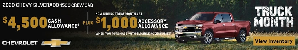 $1,000 Accessory Allowance on Trucks