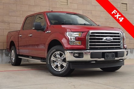 Used 2017 Ford F-150 XLT Truck SuperCrew Cab on sale in McKinney, TX