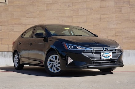 New 2020 Hyundai Elantra SE Sedan on sale in McKinney, TX