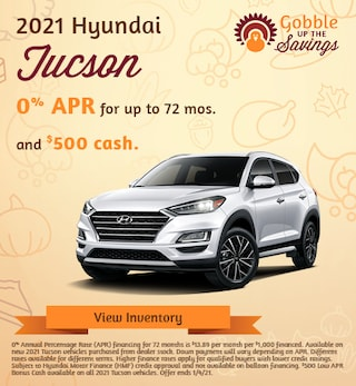 Hyundai Tucson Financing Special Offer