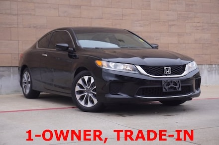 Used 2013 Honda Accord LX-S Coupe on sale in McKinney, TX