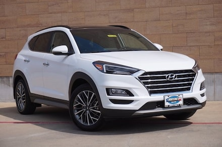 New 2021 Hyundai Tucson Ultimate SUV for sale in McKinney TX