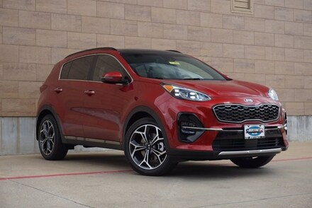 New 2022 Kia Sportage SX SUV on sale in McKinney, TX
