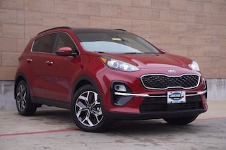 New 2021 Kia Sportage EX SUV for sale in McKinney TX
