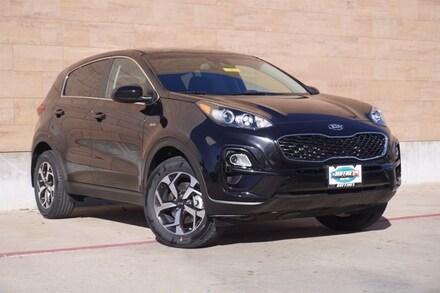 New 2021 Kia Sportage LX SUV on sale in McKinney, TX