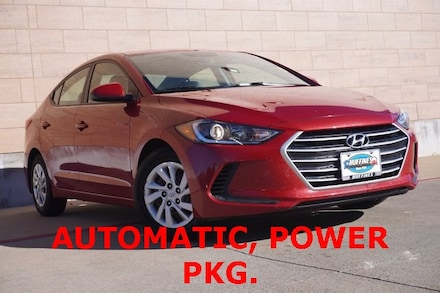Used 2017 Hyundai Elantra SE Sedan on sale in McKinney, TX