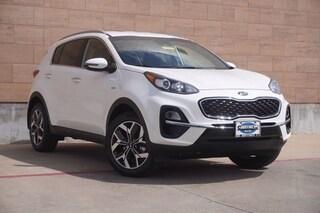 New 2021 Kia Sportage EX SUV for sale in McKinney TX