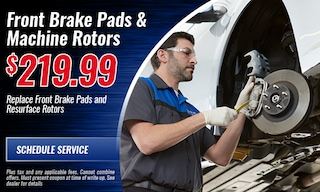 Front Brake PAds and Machine Rotors