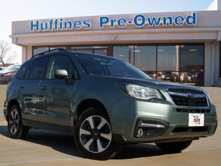 Certified Pre Owned 2018 Subaru Forester 2.5i Premium CVT SUV For Sale Denton, Texas