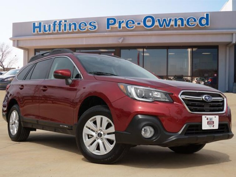 Certified Pre Owned 2018 Subaru Outback 2.5i Premium SUV For Sale Denton, Texas