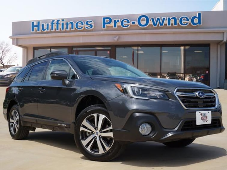 Certified Pre Owned 2018 Subaru Outback 2.5i Limited SUV For Sale Denton, Texas