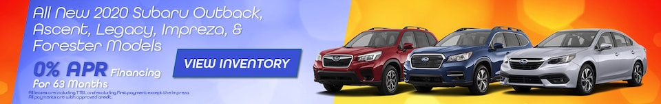 All New 2020 Subaru Outback, Ascent, Legacy, Impreza, & Forester Models