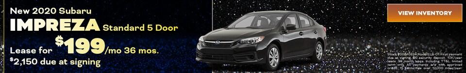 New 2020 Subaru Impreza Standard 5 Door