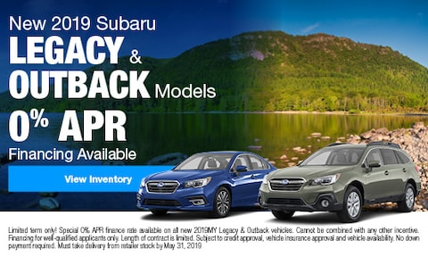 New 2019 Subaru Legacy & Outback Models