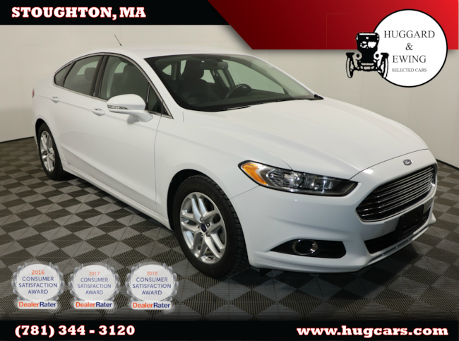 2016 Ford Fusion Se w/ Bluetooth Leather Sedan
