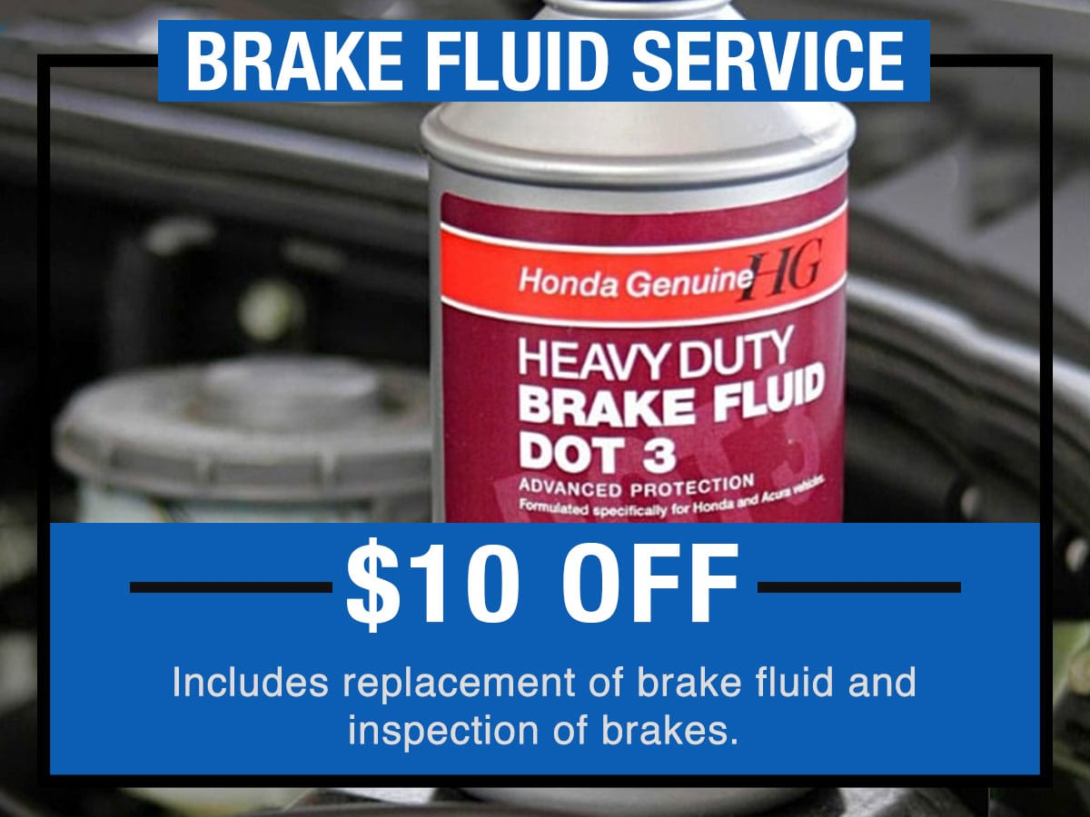Honda Brake Fluid Service Near Fort Worth TX