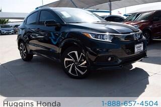 New 2020 Honda HR-V Sport AWD SUV LM721055 for sale near Fort Worth TX