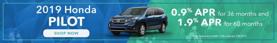 May 2019 Honda Pilot Finance